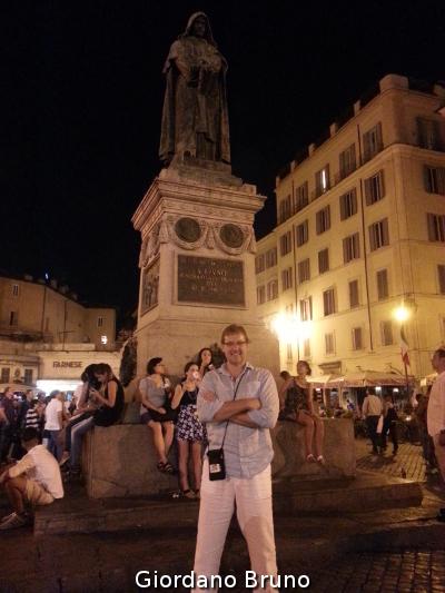 Giordano Bruno Rome